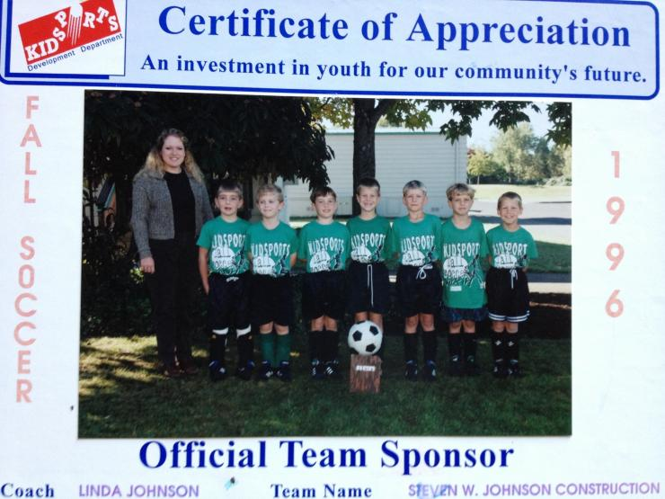 Official Team Sponsor for many years.