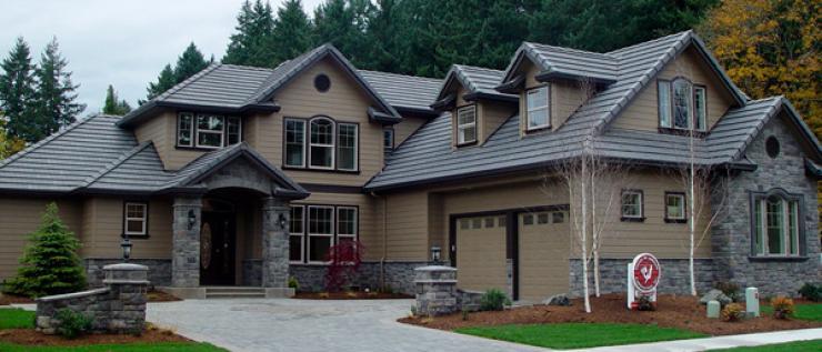 Alder Creek home construction