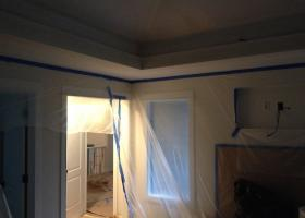 After: framing and sheetrock