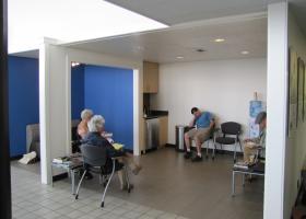 Sheppard Motors Waiting Room Remodel