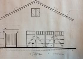 Detached Garage on 20 acres
