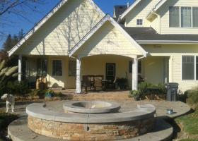 Custom fire pit for great outdoor gatherings