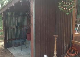 Shabby Chic tool shed