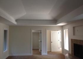 After: new ceiling