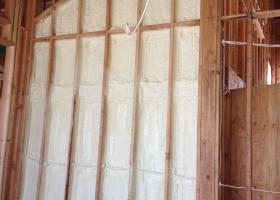 BIBS (blown-in-blanket-system) insulation