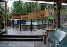 Contemporary Outdoor Living with Pool