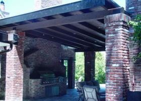 Outdoor living with new roofing