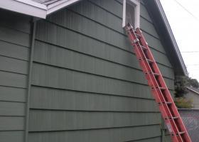 A home gets brand new siding