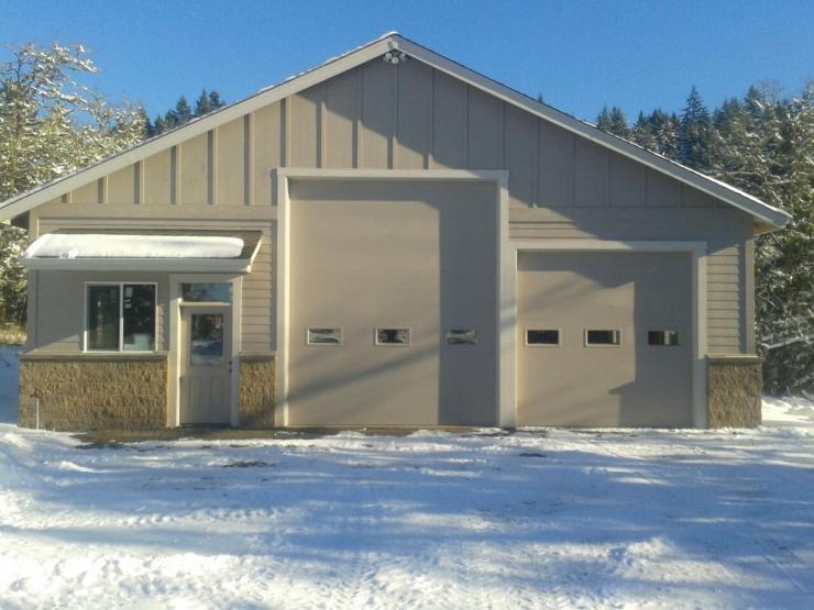 Detached Garage Shop Steven W Johnson Construction Inc